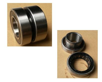 6005 single way bearing for washing machine clutch motor for Washing machine motor bearings